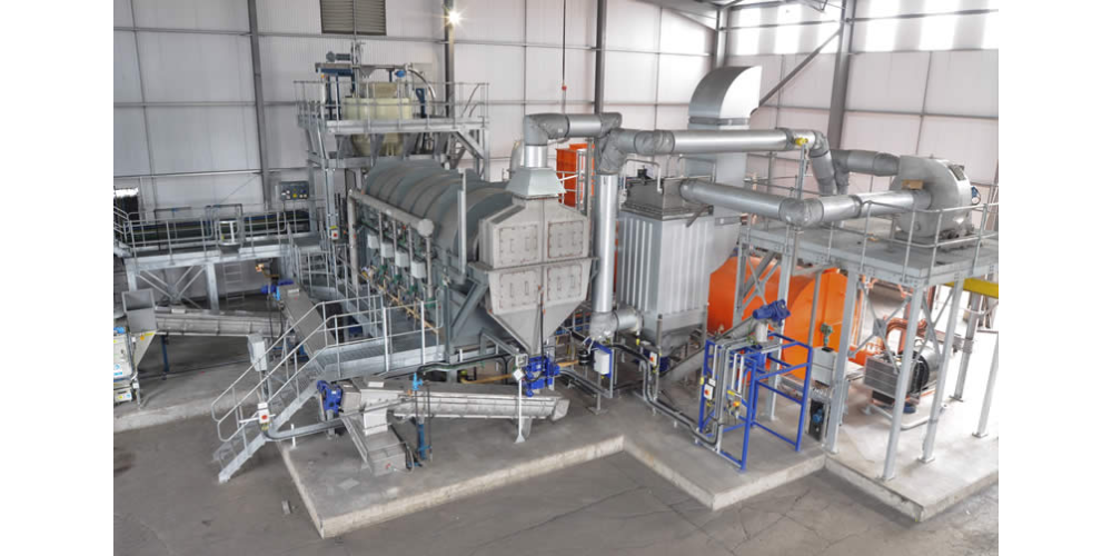CPL Activated Carbons 'Amber' Reactivation Facility in the UK
