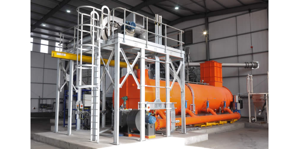 Thermal Oxidiser at CPL's Spent Carbon Reactivation Facilty